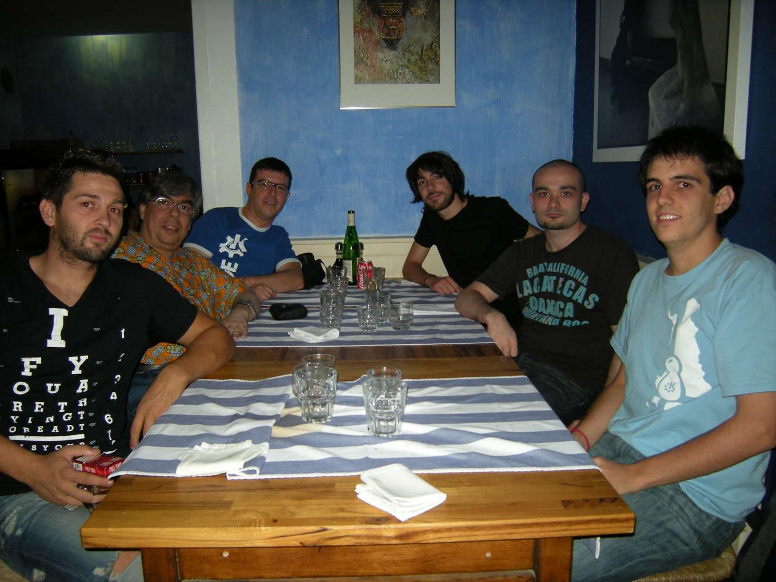 kde 4.5 dinner in Barcelona