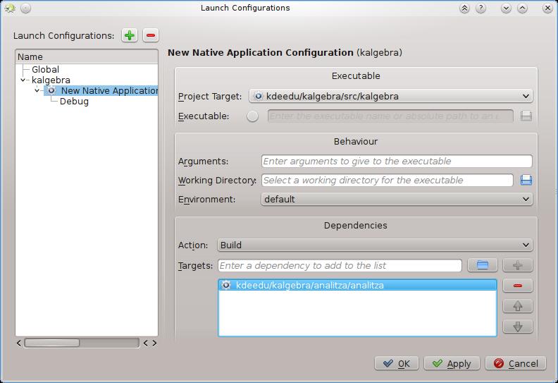KDE import